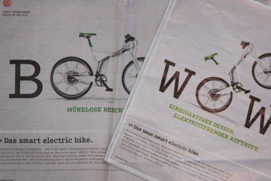 Smart-Werbung in Zeitungen und Zeitschriften © Reidl