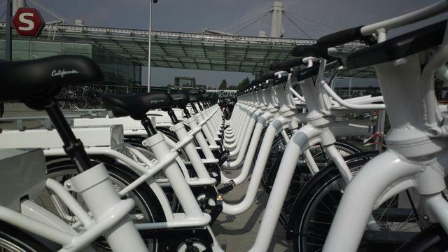 Die Gobike-Flotte © Cykel Dk