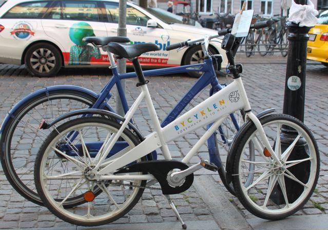 Eines der alten Bycyklen-Leihräder Kopenhagens © Reidl