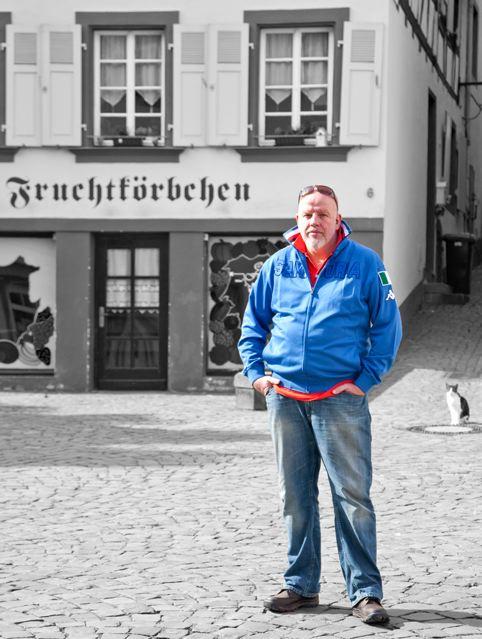 Vom Fußgänger zum Mountainbiker: Im August will Christian Krämer seine erste Runde beim Mountainbike-Rennen Schlaflos im Sattel drehen © Sandra Jacques