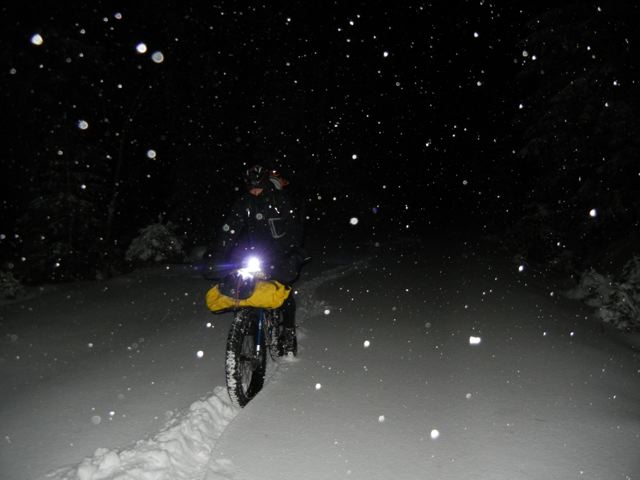 Fatbike-Harztour im Dezember © Lauter