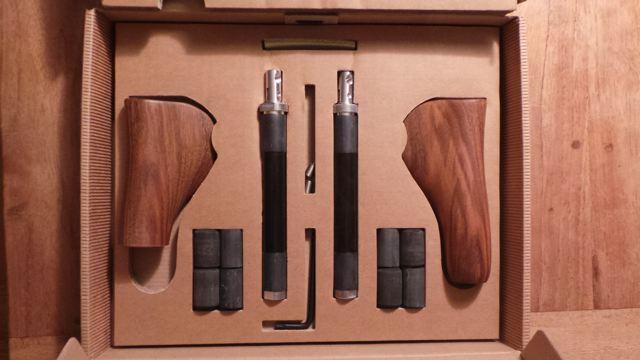 Holzgriffe für Rohloffschaltung mit © Reidl