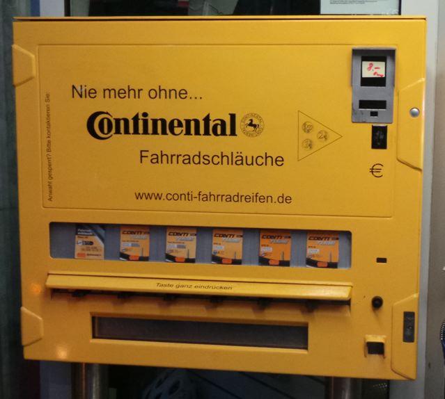 Schlauchautomat im Lübeck © Reidl