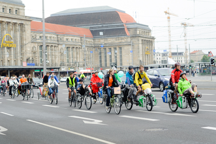 Start in Leipzig © Nils A. Petersen