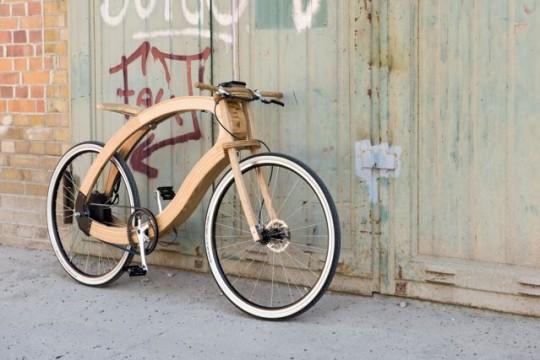 Wood-E-Bike © www.aceteam.de