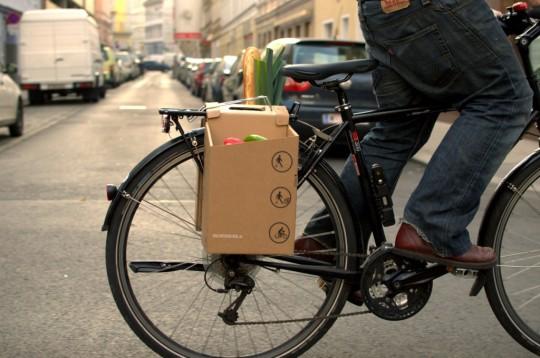 Packtasche-Fahrrad-Profil