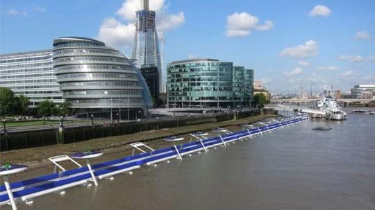 © Leon Cole/ River Cycleway Consortium/ Rex