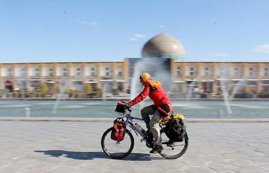 Iran - Esfahan - Heike Pirngruber - pushbikegirl