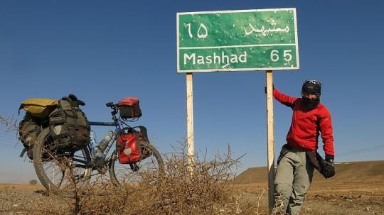 Iran: kurz vor den heiligen Stadt Mashad © Heike Pirngruber