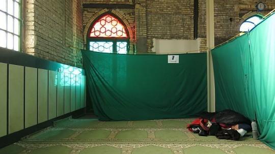 Im Iran schlief sie in einer Moschee auf der abgetrennten Frauenseite © Heike Pirngruber