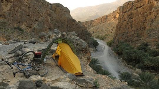 Zelten im Canyon © Heike Pirngruber