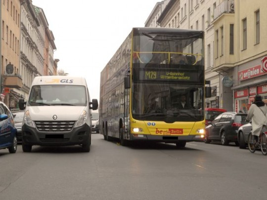 Oranienburger Straße Berlin @ Initiative für clevere Städte