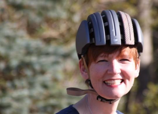 Faltbarer Helm, der Brooks Carrera © Reidl