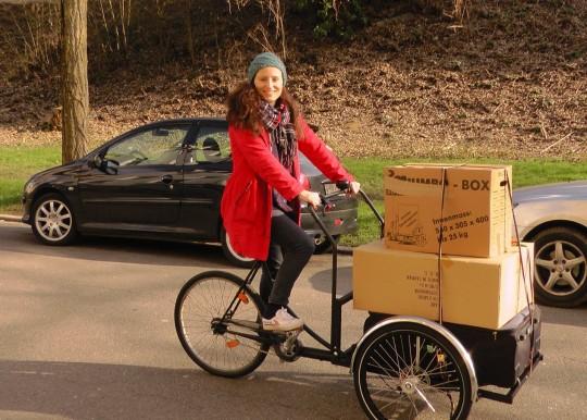 Städter entdecken das Lastenrad