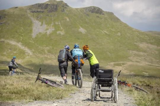 Extremer Radsport trotz Behinderung