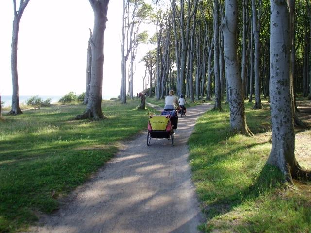Von Travemünde nach Rügen mit dem Fahrrad © Reidl