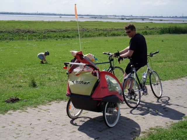 Traut Euch mit Kindern auf die Radreise