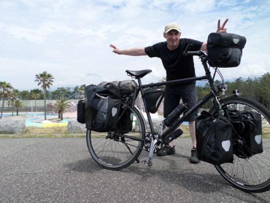 Sven Marx fährt ein Sportrad von Patria © Sven Marx