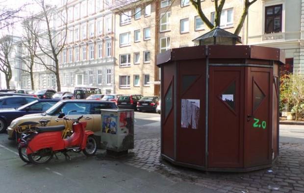 Fahrrradhäuschen in Hamburg © Reidl