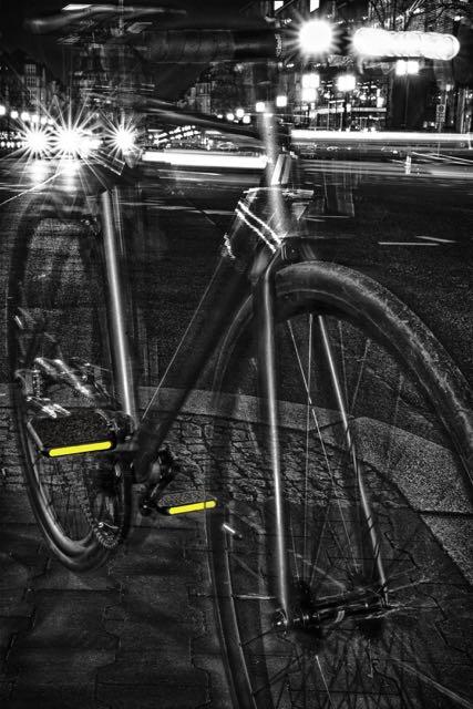 Moto Pedal mit gelben Reflektorstreifen © Moto Bicycles