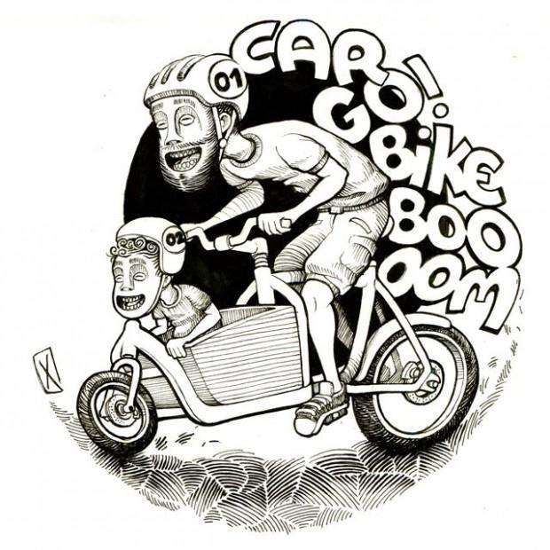 © Car go bike boom