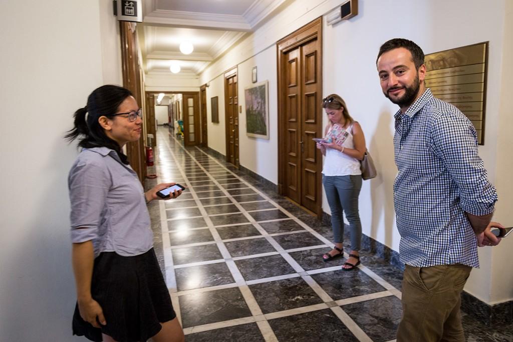 Als deutsche Reporterin in Athen