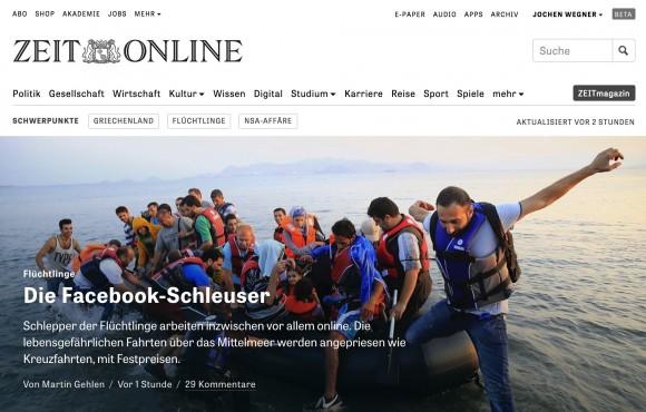#allesneu - der Relaunch von ZEIT ONLINE