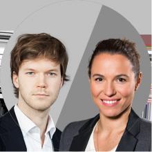 Maria Exner und Simon Kerbusk