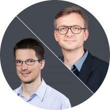 Jochen Wegner und Martin Kotynek