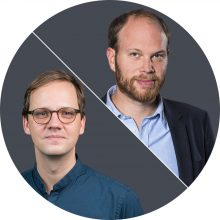 Philip Faigle und Christian Bangel