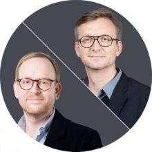 Jochen Wegner und Christoph Amend