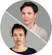 Maria Exner und Amna Franzke