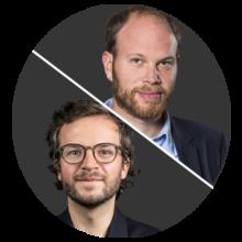 Philip Faigle und Julius Tröger