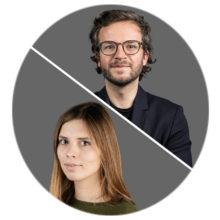 Elena Erdmann und Julius Tröger