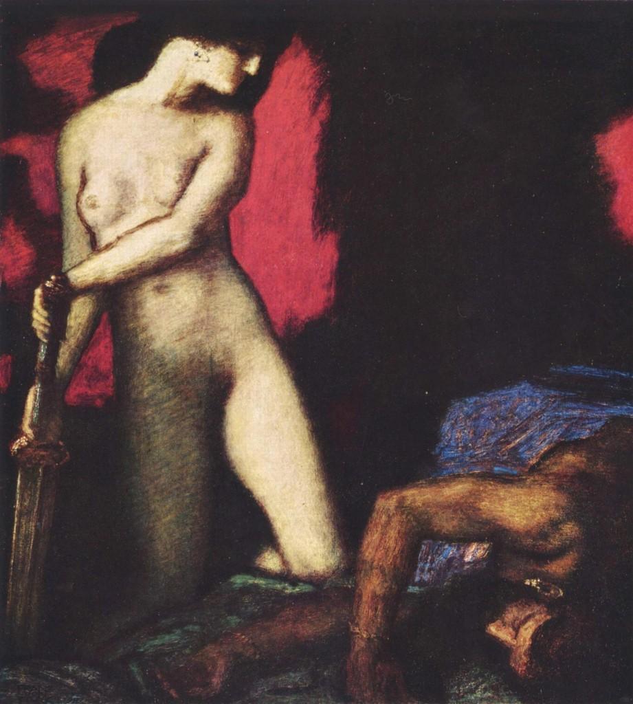"""""""Judith und Holofernes"""" von Frank von Stuck, 1927 (© Wikimedia Commons)"""