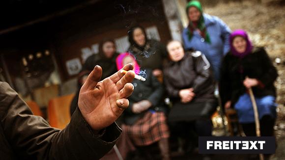 Ukraine: Nur Tod. Nur Lachen * Freitext