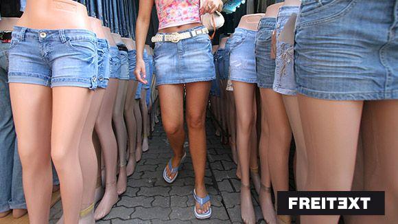 Tragt Schuluniform statt Hotpants! – Freitext
