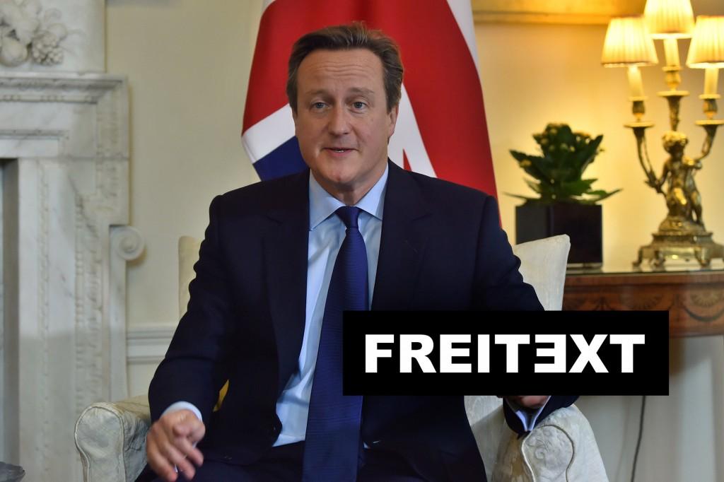 David Cameron: Der Schweinemaul-Steck-Fall