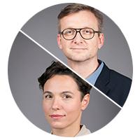 Jochen Wegner und Maria Exner