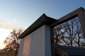 Versuchsfläche zur Energiegewinnung aus einer Fassade, Copyright: Hochschule Wismar