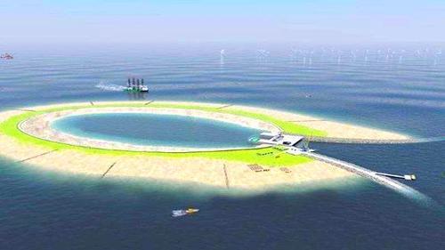 Belgische Stromspeicher-Insel © Belgisches Wirtschaftsministerium