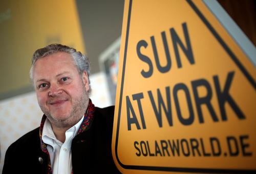 Solarworld-Chef Frank Asbeck, © Oliver Berg/dpa