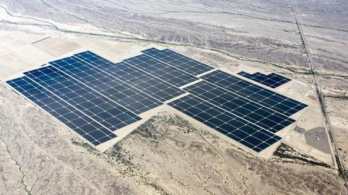 Solarpark Agua Caliente © NRG Solar