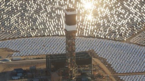 Solarthermiekraftwerk Ivanpah © BrightSource
