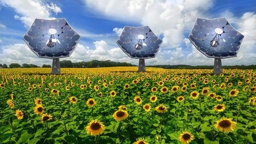Vision: Das Hochleistungs-Solarkraftwerk © IBM Research