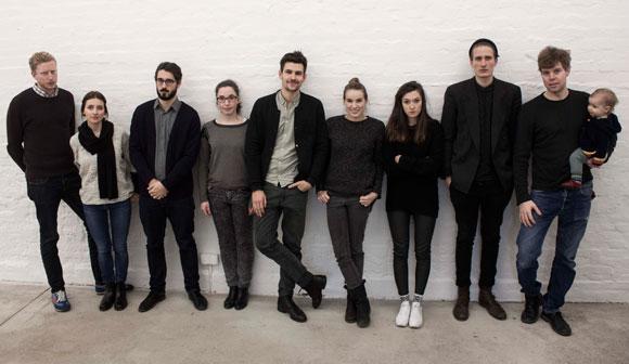 Das Team der P/ART (v.l.n.r.): Justus Duhnkrack, Nele Groeger, Michael Wagner, Anna Seckler, Tim Theo Geissler, Kristin Dierbach, Jana Federov, Johannes Boscher, Robin Höke und Ava