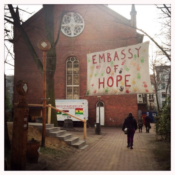 Embassy of Hope, St. Pauli Kirche, Foto: Erik Hauth