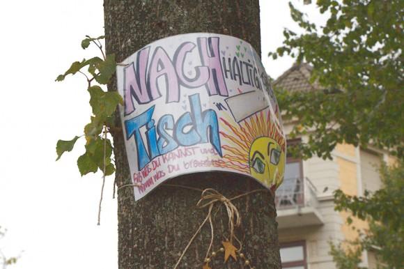 Nachtisch steht für Nachhaltigkeit. Foto: Annika Demgen