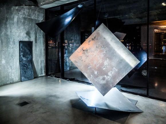 """Jana Schumacher: Installationsansicht """"Fragments of Night and Day"""", 2014. (Foto: Jana Schumacher)"""