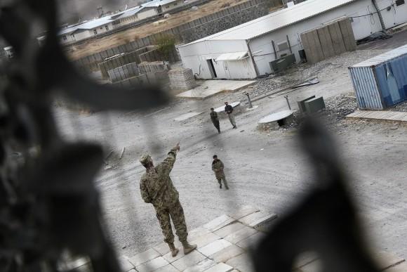 Das ehemalige Feldlager der Bundeswehr in Faisabad. Die Deutschen sind vor 18 Monaten abgezogen. Doch man sieht noch ihre Spuren... Ein Rundgang.
